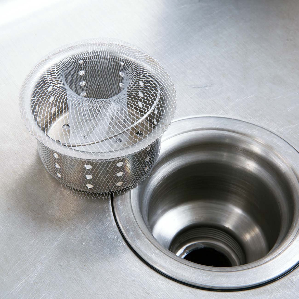 【現貨】居家家 100只廚房水槽過濾網水池漏網 浴室下水道排水口防堵地漏