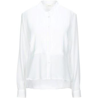 《セール開催中》VICOLO レディース シャツ ホワイト S ポリエステル 100%