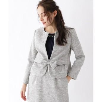 Couture Brooch(クチュールブローチ) 【WEB限定サイズ(SS・LL)あり】カルゼツイードジャケット