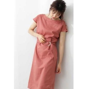 PROPORTION BODY DRESSING / プロポーションボディドレッシング  ◆2Way麻ボートネックワンピース
