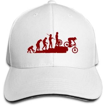 面白いマウンテンバイク キャップ サンドイッチ ファッション小物 野球帽 ソフトボール バイザー スポーツ アウトドアなどに 人気 おしゃれ 調整可能 帽子