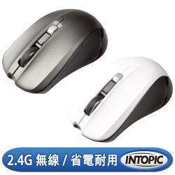 INTOPIC 廣鼎 2.4GHz飛碟無線光學滑鼠(MSW-720)