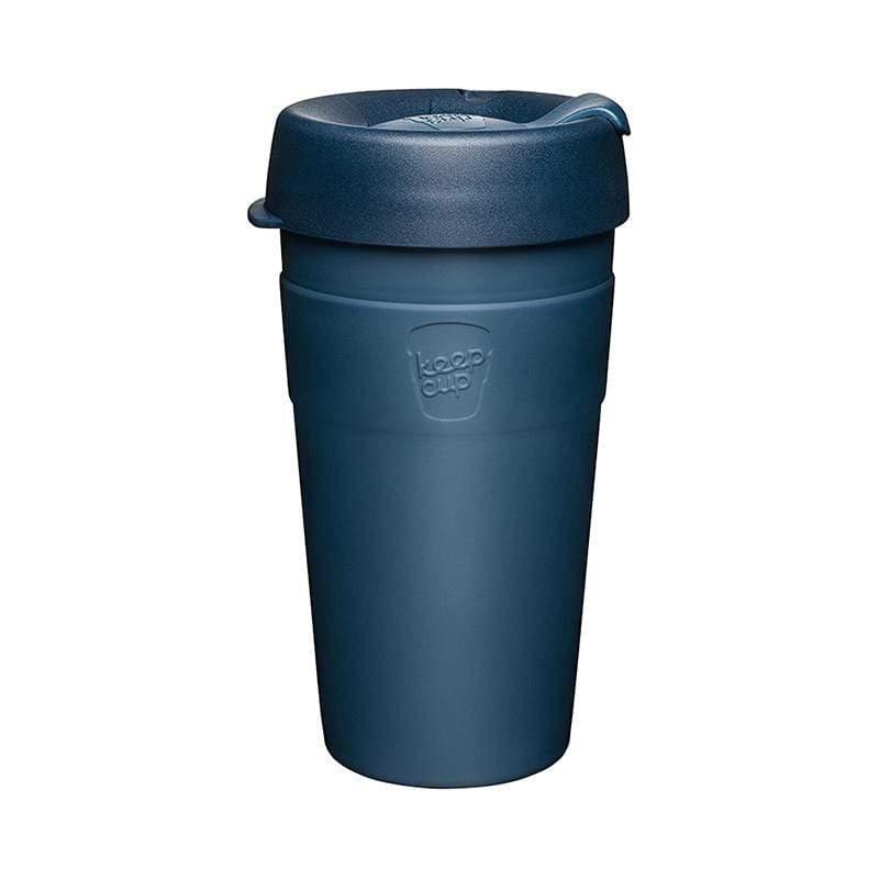 雙層真空隨身杯 L - 優雅藍