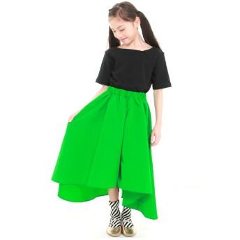 (UNICA/ユニカ)【2020春夏】フレアキュロットスカート 110~140/ グリーン