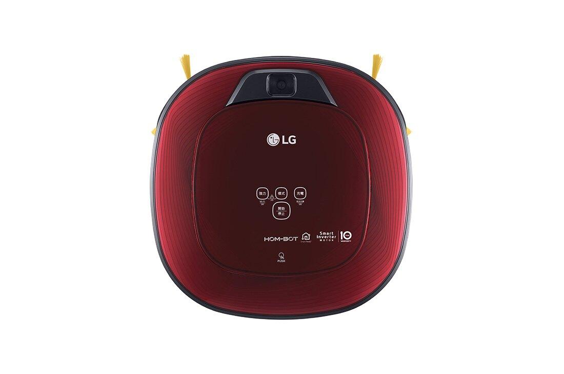 LG 樂金 WIFI濕拖清潔機器人 紅 VR6685TWARV