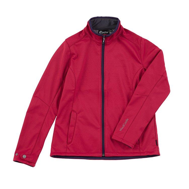 ADISI 女 softshell 防風超撥水高透氣保暖外套 AJ1921056