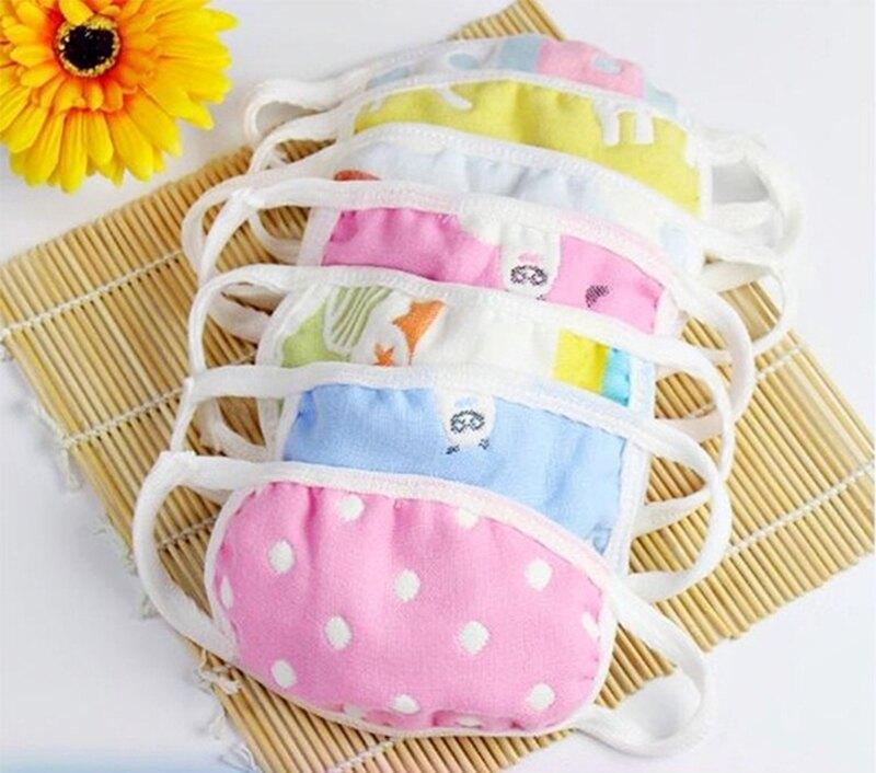 兒童六層紗布口罩一組5入 618購物節