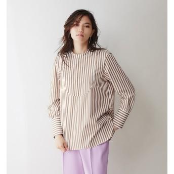 【カリテ/qualite】 ロングカフスシャツ
