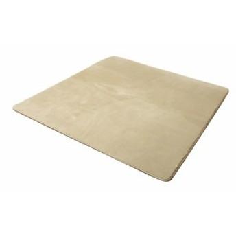 イケヒコ ラグ カーペット 1.5畳 無地 フランネル 『フランアイズ』 ベージュ 約130×185cm(ホット