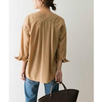 【アーバンリサーチ/URBAN RESEARCH】 UR Vネックタックシャツ