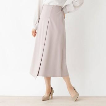 innowave ラップ風ポンチロングスカート