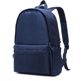 新しいカジュアルオックスフォード布バックパック男性と女性の学生ランドセルバックパック潮旅行バッグ (アップグレード/拡大(ブルー))