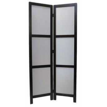 スクリーン 2連 リバーシブル 幅74cm 高さ153cm
