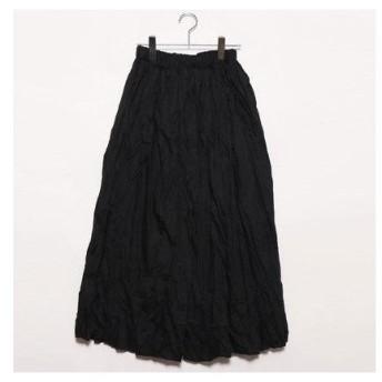スタイルブロック STYLEBLOCK ロングフレアスカート (ブラック)
