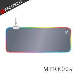 FANTECH MPR800s RGB燈效精密防滑加長版電競滑鼠墊(灰白款)