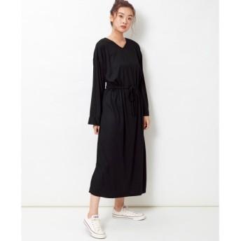 【大きいサイズ】 吸汗速乾UVカット加工カットソーワンピース ワンピース, plus size dress