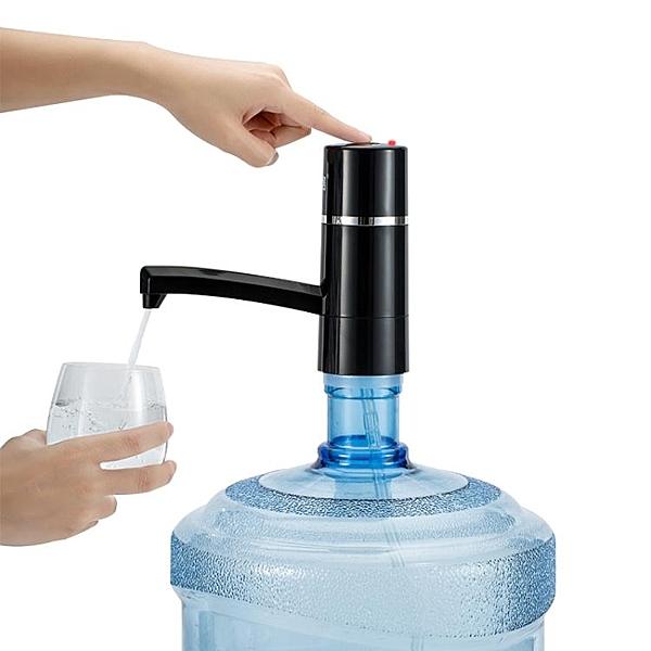 子路桶裝水抽水器礦泉飲水機家用電動純凈水桶壓水器自動上水器吸  聖誕節免運