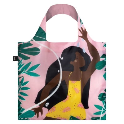 LOQI 春捲包 購物袋| 叢林女孩 CWJF