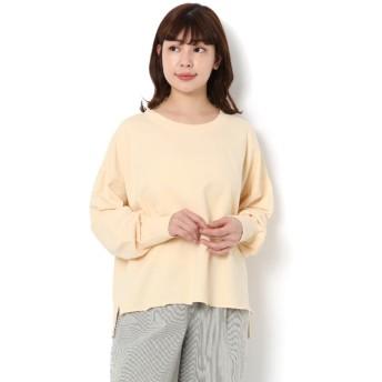 【サマンサモスモス/Samansa Mos2】 【春カタログ】ミニ裏毛ピグメントTシャツ