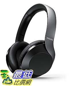 [9美國直購] 耳機 Philips Performance PH805BK Noise Canceling Wireless Headphones with Hi-Res Audio, up to