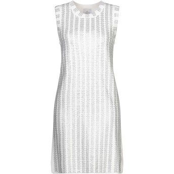 《セール開催中》AMO レディース ミニワンピース&ドレス ホワイト 1 レーヨン 100%