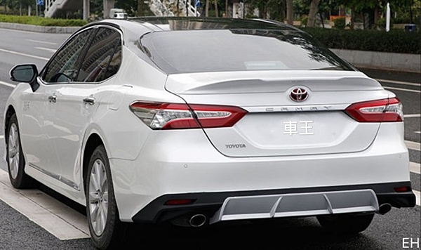 【車王汽車精品百貨】豐田 Camry 8代 八代 TRD款 尾翼 壓尾翼 改裝尾翼 定風翼 導流板