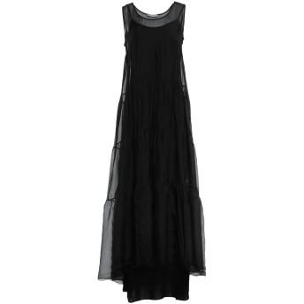 《セール開催中》PAPERLACE London レディース ロングワンピース&ドレス ブラック 10 レーヨン 70% / シルク 30%
