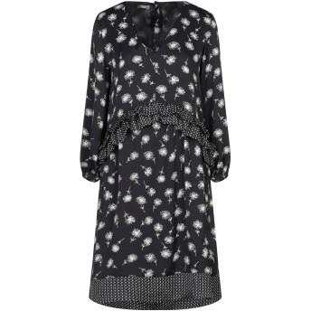 《セール開催中》DIXIE レディース ミニワンピース&ドレス ブラック M ポリエステル 100%