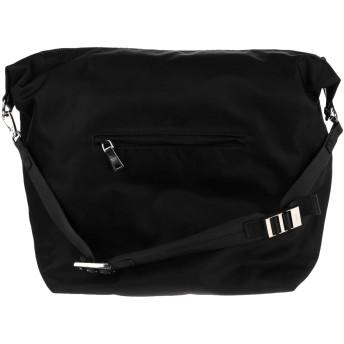 《セール開催中》PRADA メンズ 旅行バッグ ブラック 紡績繊維