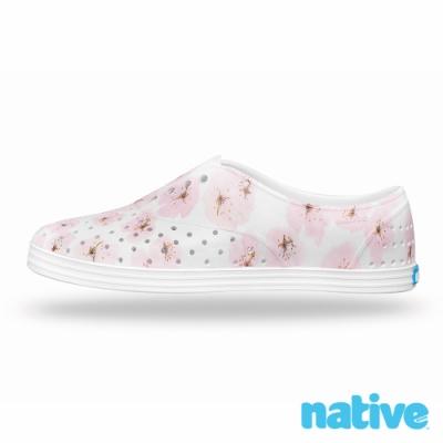 native JERICHO 女鞋-貝殼白x茱萸花
