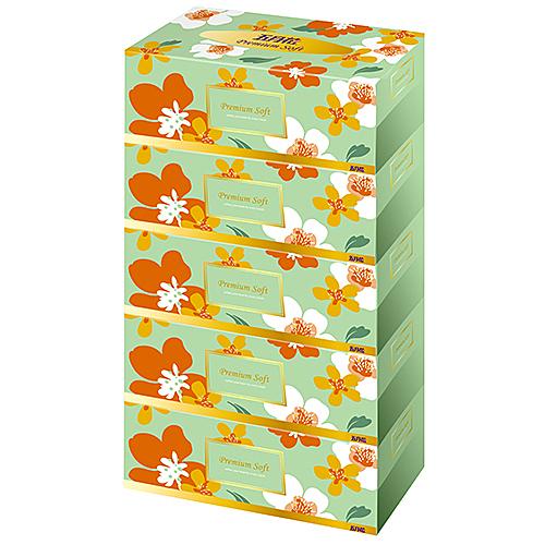 【奇奇文具】五月花 180抽 親肌感 超柔面紙(1袋5盒)