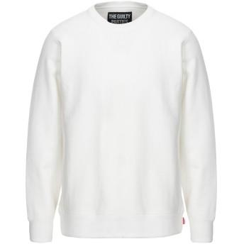 《セール開催中》GUILTY PARTIES メンズ スウェットシャツ ホワイト L コットン 100%