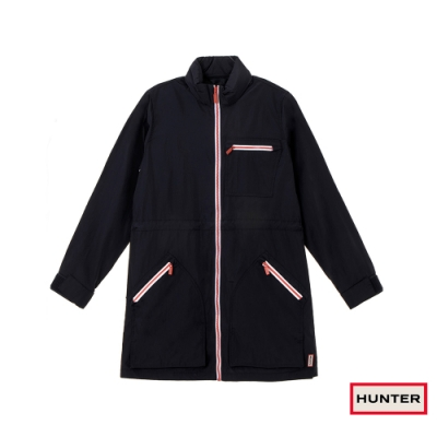 HUNTER - 女裝 - 尼龍帕卡大衣 - 藍