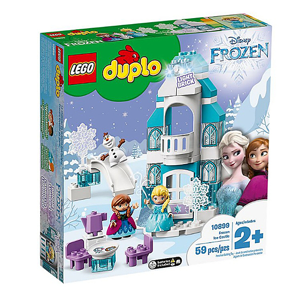 樂高 LEGO Duplo 幼兒系列  LT10899 Frozen Ice Castle