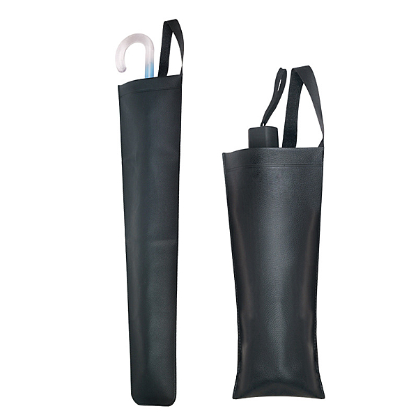仿真皮車用雨傘袋 多功能摺疊傘套 雨傘套 雨傘收納袋 雨傘背袋 椅背傘袋 雨傘收納套