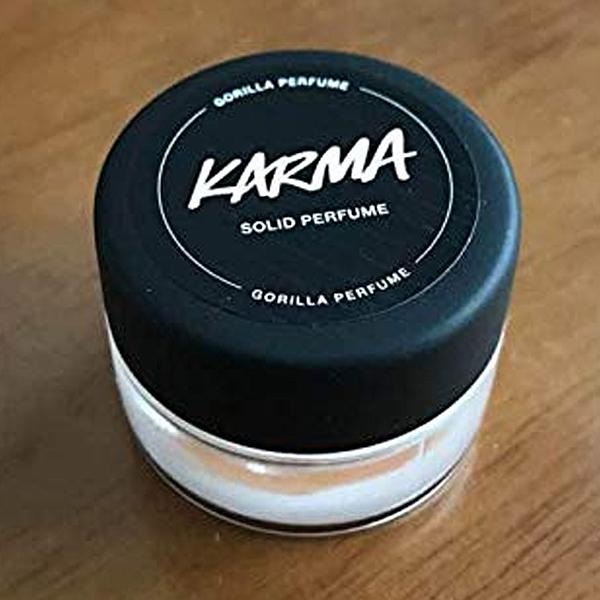 禎的家*英國香芬 LUSH * 冥想 karma 香膏 英國原裝新包裝香香 ~隨身好物