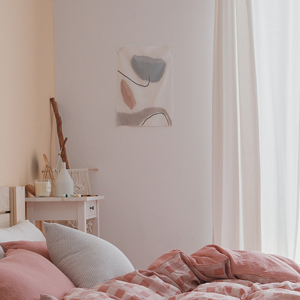 掛布【Flo】棉麻混織 品牌掛布 獨家設計 居家裝飾 翔仔居家