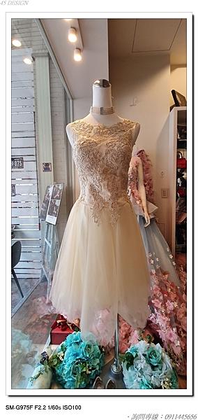 (45 Design高雄實體店面) 現貨零碼-極速出貨-特賣出清 大尺寸 小尺寸洋裝 短禮服 媽媽服伴娘 S95