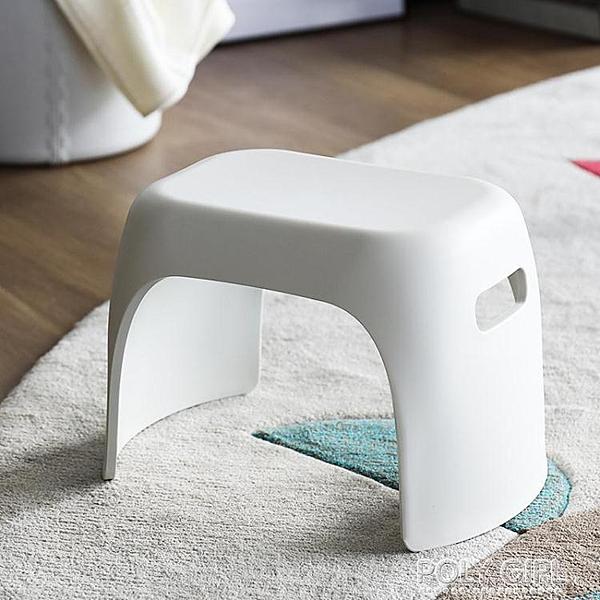 加厚小板凳家用換鞋兒童孕婦墊腳凳衛生間浴室防滑增高馬桶矮凳子 ATF 夏季新品