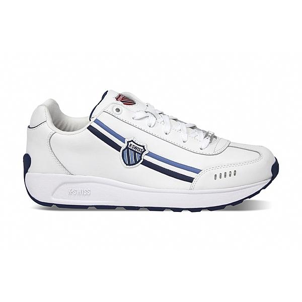 K-SWISS Enstev 復古運動鞋 男 藍白 0914-168