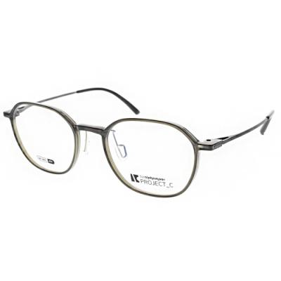 Alphameer 光學眼鏡 韓國塑鋼系列 透墨綠 霧槍 AM3909 C71
