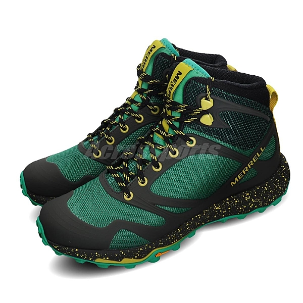 Merrell 戶外鞋 Altalight Knit Mid 綠 黑 女鞋 運動鞋 登山鞋 【ACS】 ML034022
