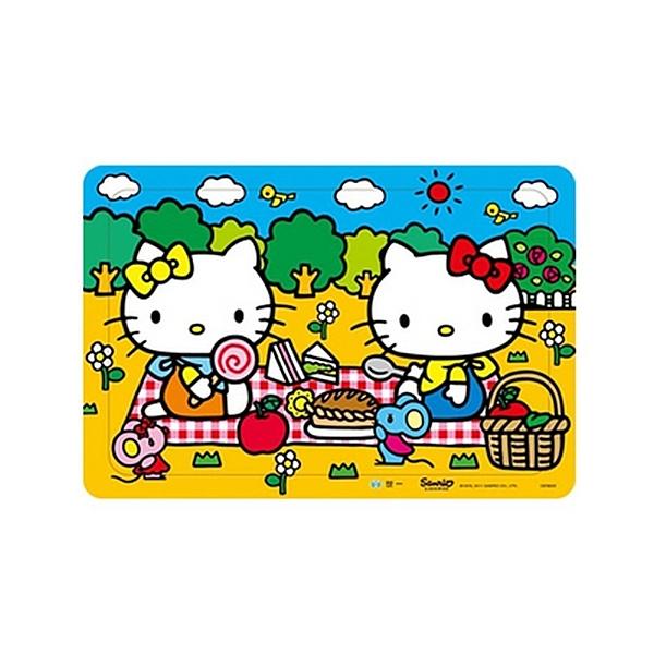世一 Hello kitty 快樂野餐(80拼圖)