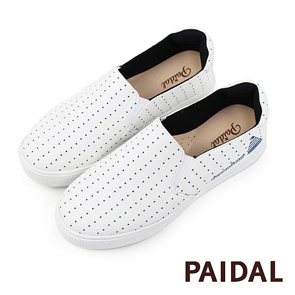 Paidal 風帆之旅海軍風厚底休閒鞋 女鞋