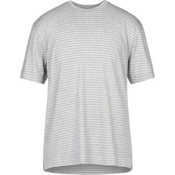 《セール開催中》OBVIOUS BASIC メンズ T シャツ グレー XXL レーヨン 95% / ポリウレタン 5%