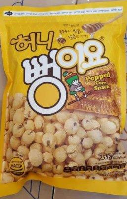 現貨韓國零食奶油蜂蜜爆米花255g