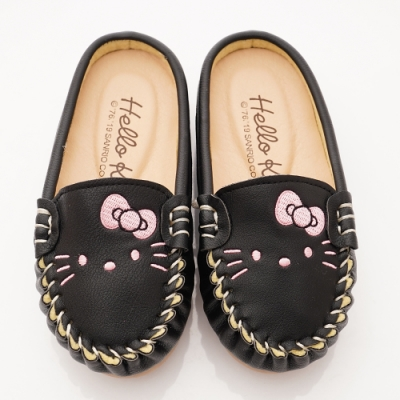 HelloKitty童鞋 Q軟豆豆鞋款 SE19882黑(中小童段)