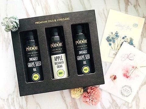波多爾Podor~榛果油、茨威格葡萄籽油、夏威夷堅果油禮盒~特惠中~