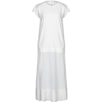 《セール開催中》AGNONA レディース ロングワンピース&ドレス ホワイト XS ウール 100% / シルク
