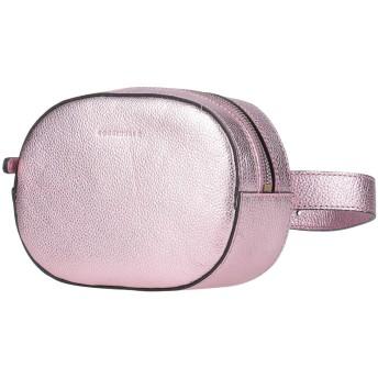 《セール開催中》COCCINELLE レディース バックパック&ヒップバッグ ピンク 革